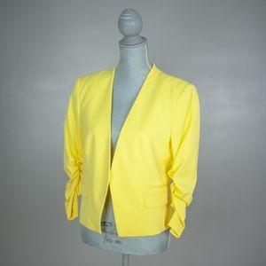 H&M   Neon Yellow Blazer   Size 12